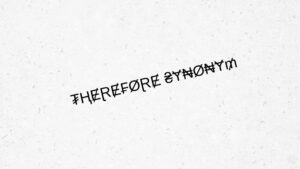Therefore synonym